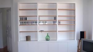 Librería betal armarios a medida Irún