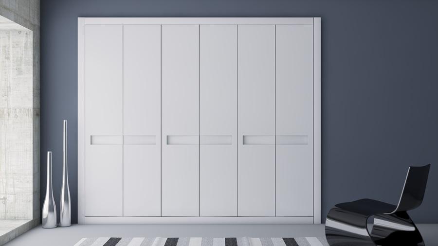 Puertas armarios abatibles affordable frente de armario - Armarios con puertas abatibles ...