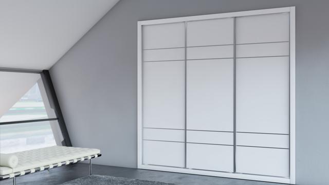 Puertas correderas armarios a medida ir n betak - Perfiles de aluminio para armarios ...